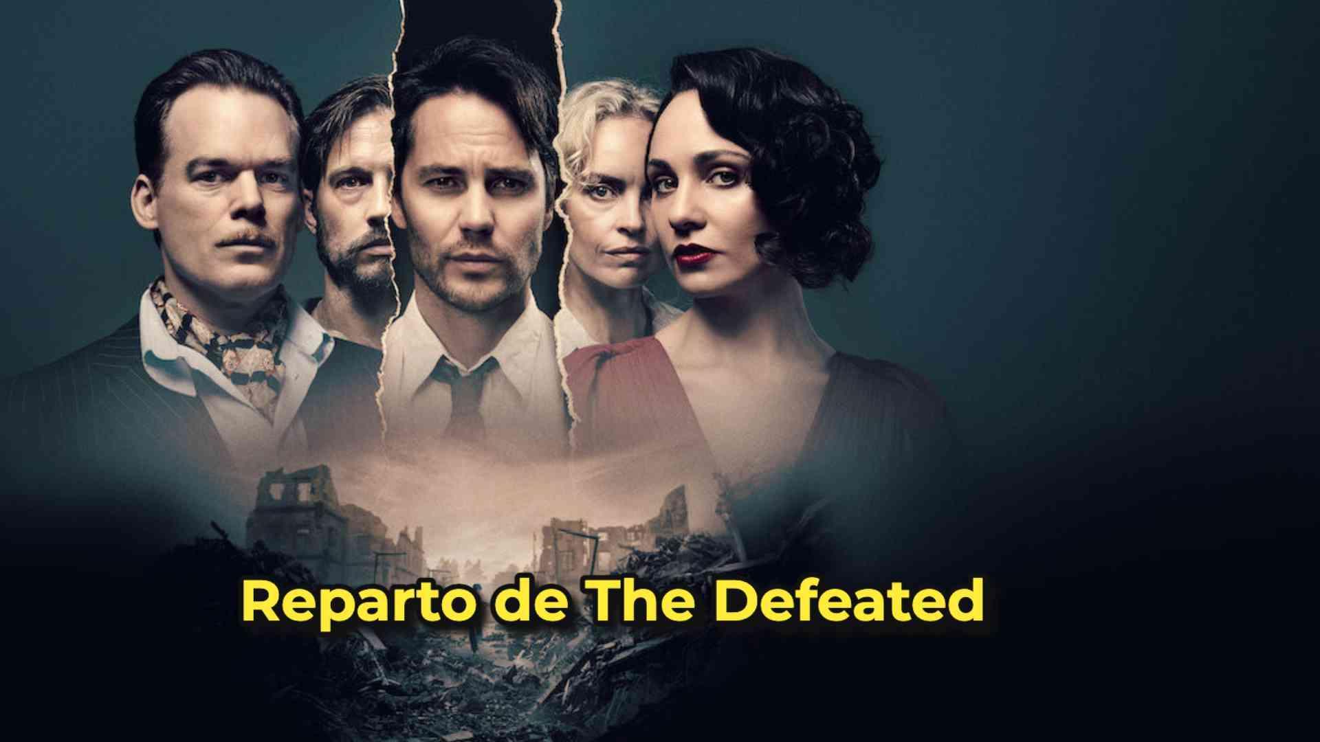 reparto de The Defeated