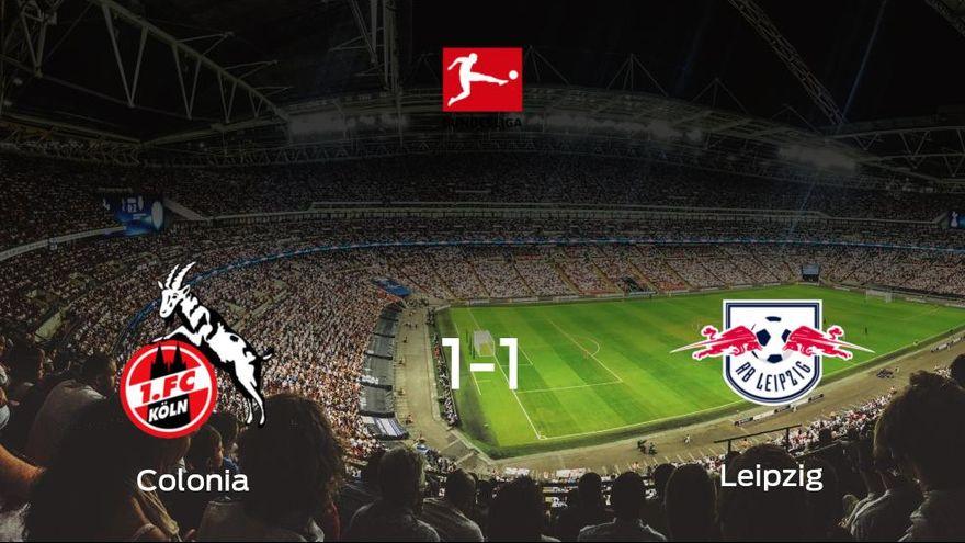 El Colonia y el RB Leipzig concluyen su encuentro liguero