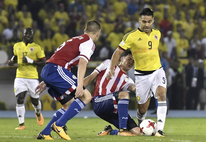 Eliminatorias sudamericanas como y donde ver Paraguay vsColombia