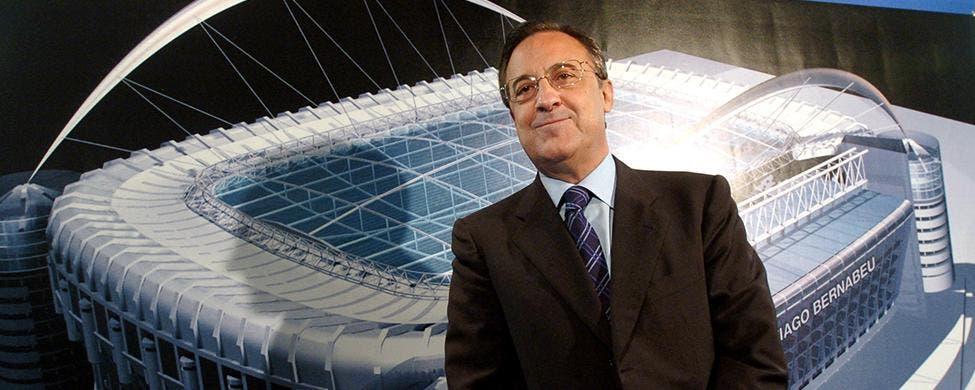 Florentino Perez paga para que no vaya al Barca de