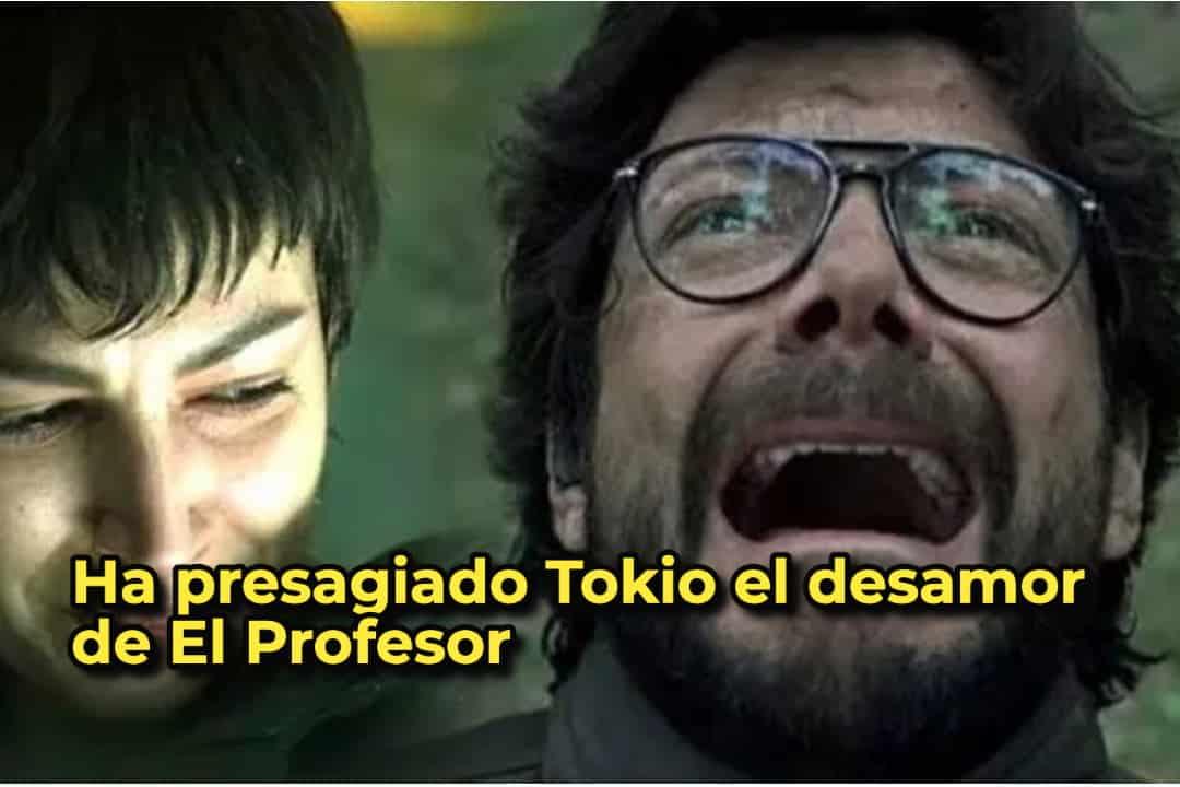 Ha presagiado Tokio el desamor de El Profesor