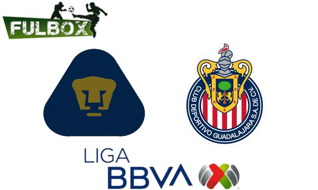 Pumas vs Chivas EN VIVO Hora Canal Donde ver Jornada