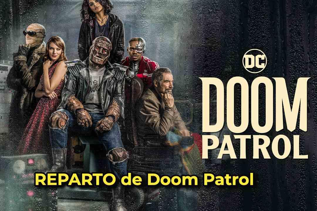 REPARTO de Doom Patrol