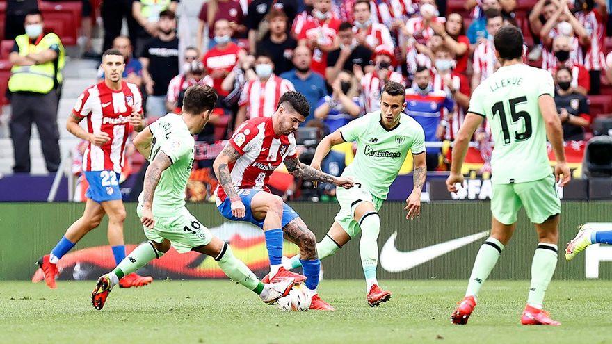 Resumen y goles del Atletico
