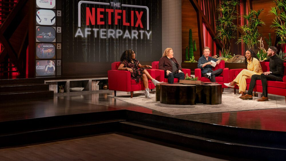 the netflix afterparty netflix scaled