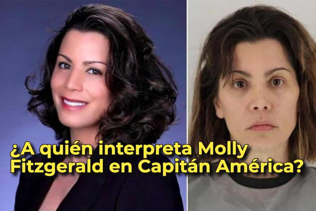 ¿A quién interpreta Molly Fitzgerald en Capitán América?