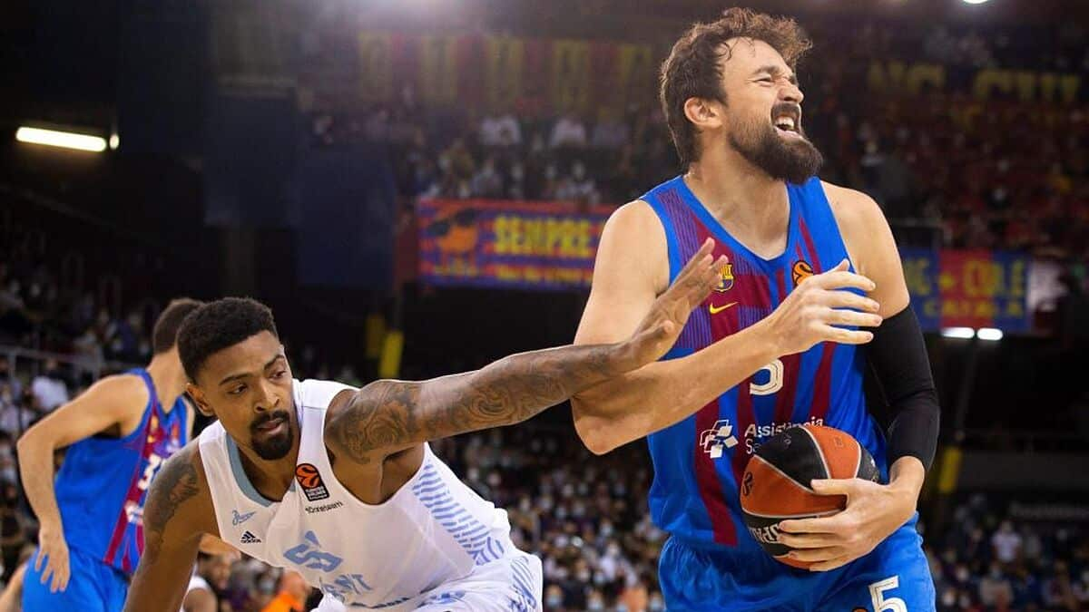 Barcelona 84 58 Zenit el Bara se regala todo un homenaje
