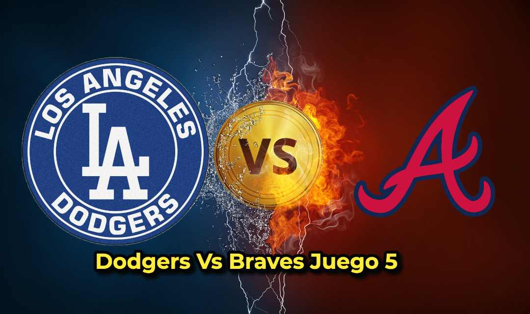 Dodgers Vs Braves Juego 5