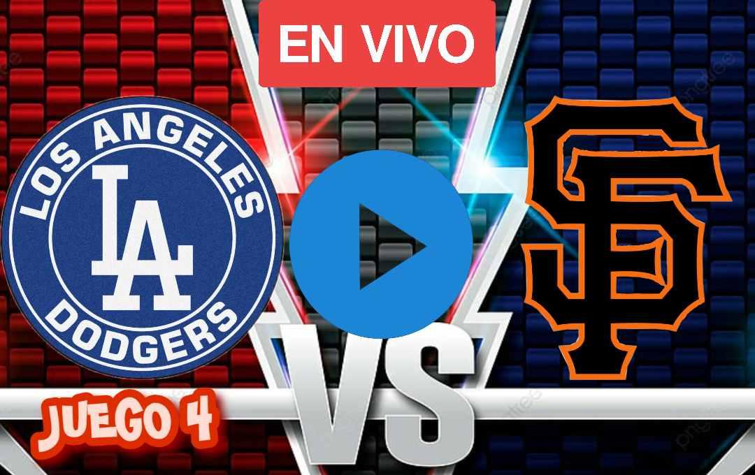Dodgers Vs Giants Juego 4 en vivo online, Dodgers vs. Giants: Juego 4 de la NLDS en vivo,