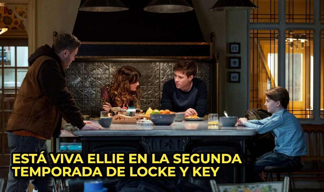 ESTÁ VIVA ELLIE EN LA SEGUNDA TEMPORADA DE LOCKE Y KEY