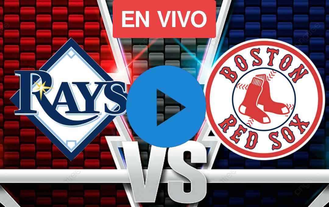 Ver En Vivo Online Red Sox Vs Rays Juego 4 En vivo En Directo [gratis]