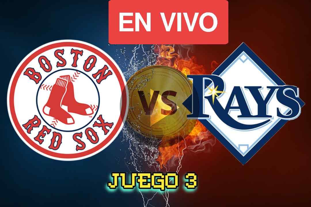 Red sox Vs Rays Juego 3 En vivo Online, Red sox Vs Rays Juego 3: transmisión en vivo de ALDS, canal de televisión, visualización en línea, tiempo, probabilidades de playoffs de la MLB 2021