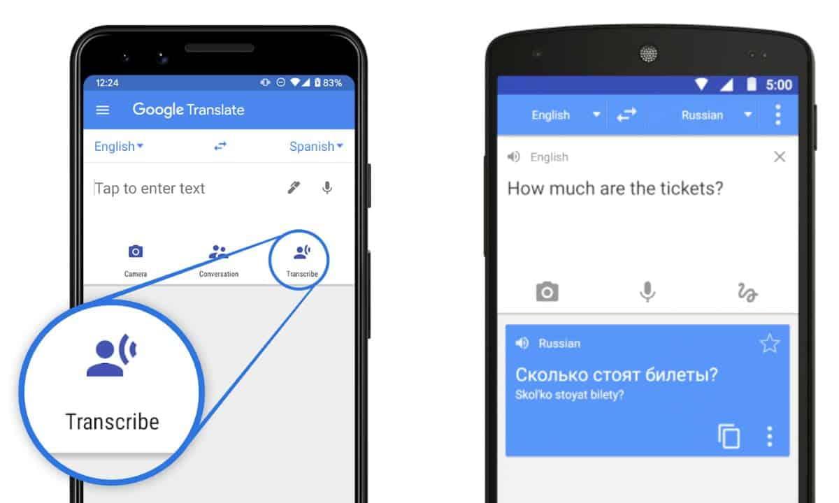 como usar traductor google
