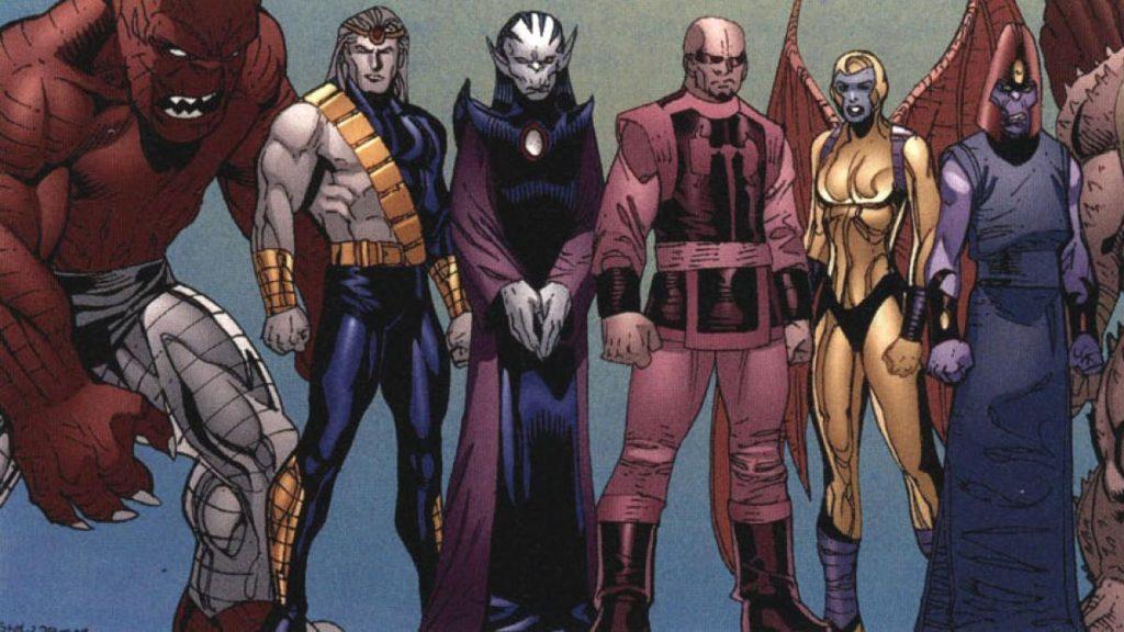 los desviantes en los comics de marvel
